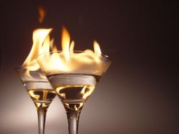 drinks-on-fire
